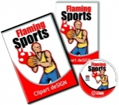 Flamming Sports Vector Clipart - Paket | Download