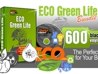 Eco Green Life Vector Art Collection - Download