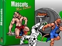 Mascots Vector Clipart Collection - Download