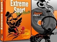 Extreme Sport Vector Clipart Collection - Download