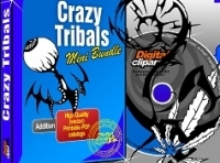 Crazy Tribals Vector Images Collection - Download