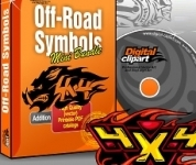 Off-road Symbols Vector Images Collection - Download