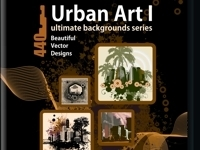Urban Art Vektor Hintergrundbilder Vol 1 - Paket | Download