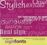 Handpainted Signfonts Collection - Download