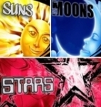 Suns, Stars & Moons Vector Clipart Collection - Download